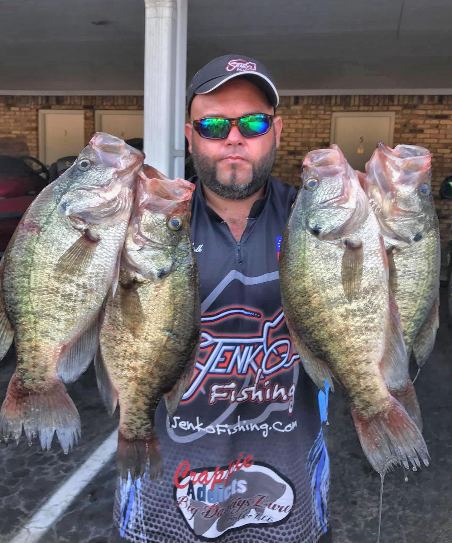 Fishing Lake Fork Oklahoma Crappie Anglers Club
